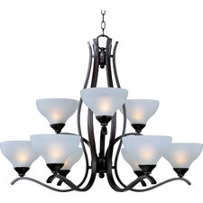 Gamilan 9 - Light Multi - Tier Chandelier