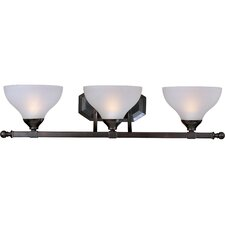 <strong>Maxim Lighting</strong> Contour 3 Light Vanity Light