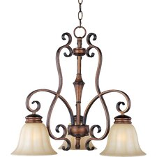 <strong>Maxim Lighting</strong> Fremont 3 Light  Chandelier