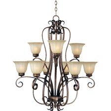 Chapelle 9 - Light Multi - Tier Chandelier