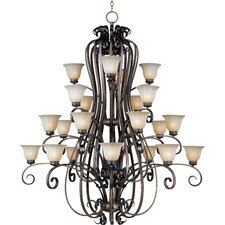 Chapelle 24 - Light Multi - Tier Chandelier