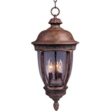 Knob Hill DC 3 Light Outdoor Hanging Lantern