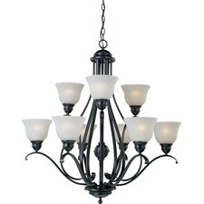 Rytmo 9 - Light Multi - Tier Chandelier