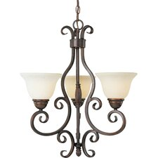 <strong>Maxim Lighting</strong> Manor  3 Light Chandelier