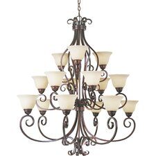 Tenor 15 - Light Multi - Tier Chandelier