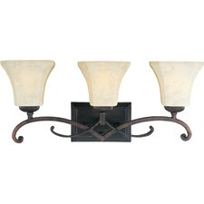 <strong>Maxim Lighting</strong> Oak Harbor 3 Light Vanity Light