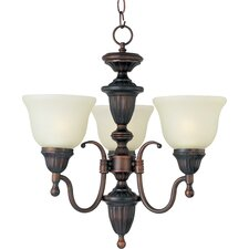 <strong>Maxim Lighting</strong> Soho 3 Light Mini Chandelier