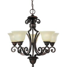 Medley 5 - Light Single - Tier Chandelier