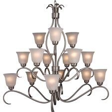 Basix 15 Light Chandelier