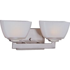 <strong>Maxim Lighting</strong> Angle 2 Light Vanity Light