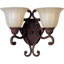 <strong>Maxim Lighting</strong> Augusta  2 Light Wall Sconce