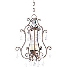 Hampton 3 Light Foyer Pendant