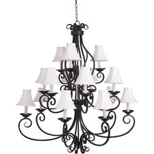 <strong>Maxim Lighting</strong> Manor 15 Light Chandelier