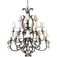 Hailee 15 - Light Multi - Tier Chandelier
