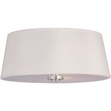 <strong>Maxim Lighting</strong> Rondo 3 Light Flush Mount