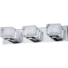 Cubic 3 Light Bath Vanity Light