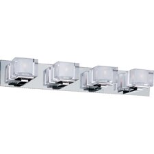 Cubic 4 Light Bath Vanity Light