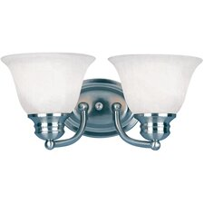 Malibu 2 Light Bath Vanity Light