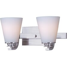 Conical 2 Light Bath Vanity Light