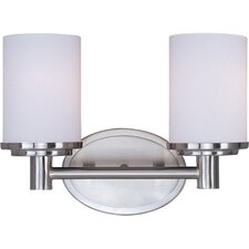 Cylinder 2 Light Bath Vanity Light