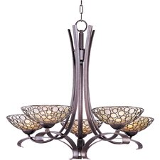Meridian 5 Light Chandelier