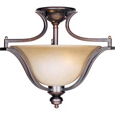Madera 3 Light Semi-Flush Mount