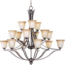 Soprane 15 - Light Multi - Tier Chandelier