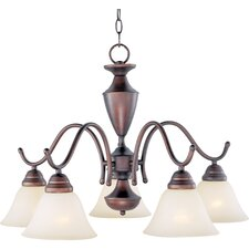 <strong>Maxim Lighting</strong> Newport 5 Light Down Light Chandelier