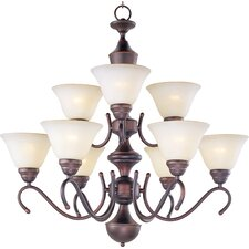 <strong>Maxim Lighting</strong> Newport 9 Light Chandelier