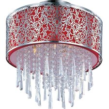 Rapture 5 Light Semi Flush Mount