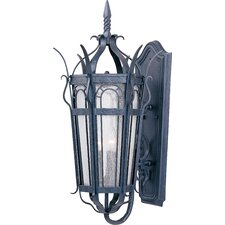 Cathedral 3 Light Outdoor Wall Lantern
