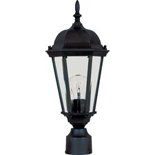 "Westlake 1 Light 8"" Outdoor Post Lantern"