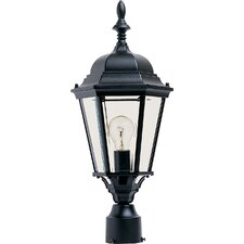 "Westlake 1 Light 9.5"" Outdoor Post Lantern"