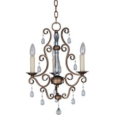 Phirce 3 - Light Mini Chandelier