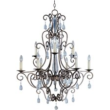 <strong>Maxim Lighting</strong> Hampton 9 Light Chandelier