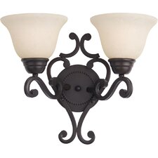 Manor 2 Light Wall Sconce