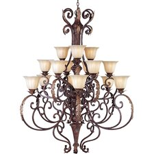 Octavio 15 - Light Multi - Tier Chandelier