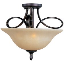Infinity 3 Light Semi Flush Mount