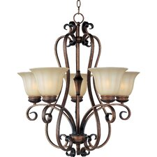 Chapelle 5 - Light Single - Tier Chandelier