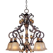 Leiy 5 - Light Down Light Chandelier