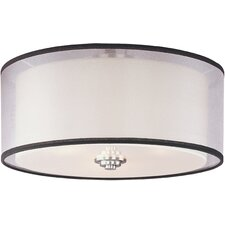 <strong>Maxim Lighting</strong> Orion 3 Light Flush Mount