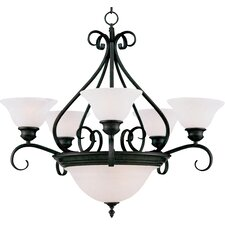 Pacific 7 Light Chandelier