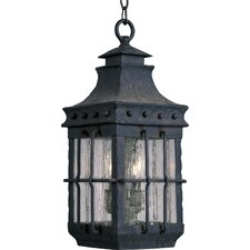 Nantucket 3 Light Outdoor Hanging Lantern