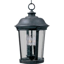 Dover DC 3 Light Outdoor Hanging Lantern
