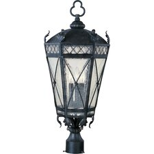Canterbury 3 Light Outdoor Post Lantern