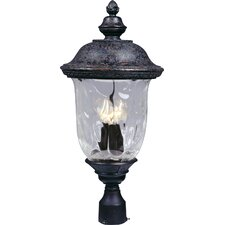 Carriage House DC 1 Light Outdoor Post Lantern