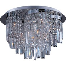 <strong>Maxim Lighting</strong> Belvedere 10 Light Flush Mount