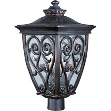 Newbury VX 3 Light Outdoor Post Lantern