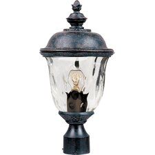 Carriage House VX 1 Light Outdoor Post Lantern