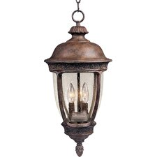 Knob Hill VX 3 Light Outdoor Hanging Lantern